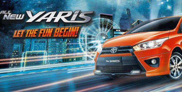 Toyota Yaris atau Toyota Vitz adalah mobil hatchback kecil yang diproduksi ole Toyota Motor Corporation. Yaris lahir pertama kali pada tahun 1999 di Eropa dengan desain, performa mesin, dan jaminan keselamatan serta konsumsi bahan bakar yang optimal, untuk memasuki pangsa pasar Eropa. Info Detail: http://www.toyota-surabaya.com/2014/04/toyota-all-new-yaris.html