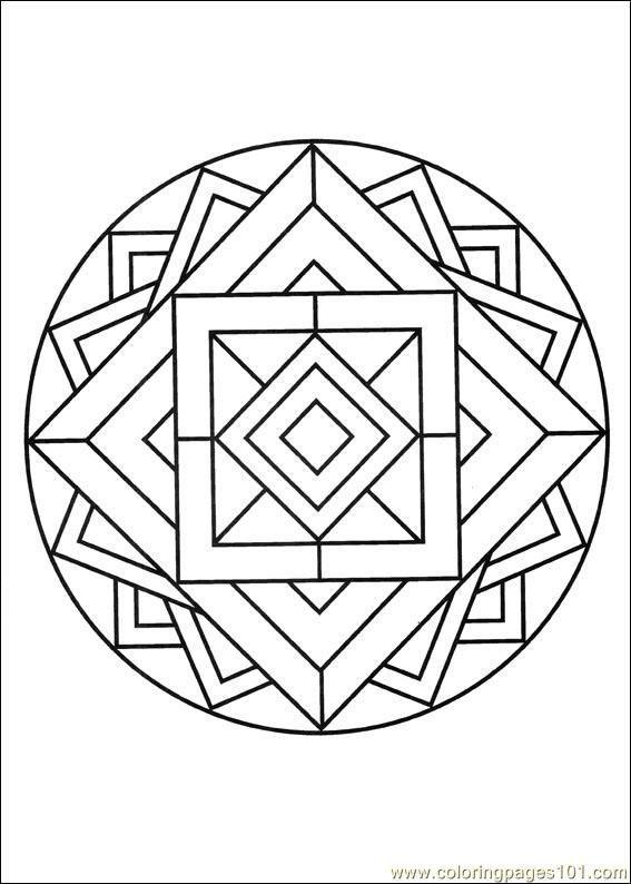 geometrische formen ausmalbilder fuer kinder kostenlos
