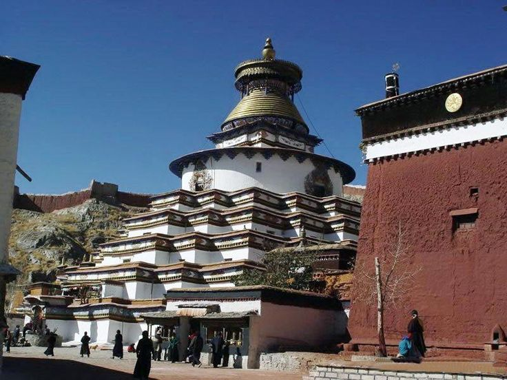 Awesome Palkhor Monastery Is Reputed As The Lord Of Tibetan Stupas And Famous For Unique  Architecture, Sculpture, And Mural Painting Artu2026