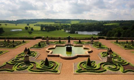 capability brown gardens at harewood landscape design