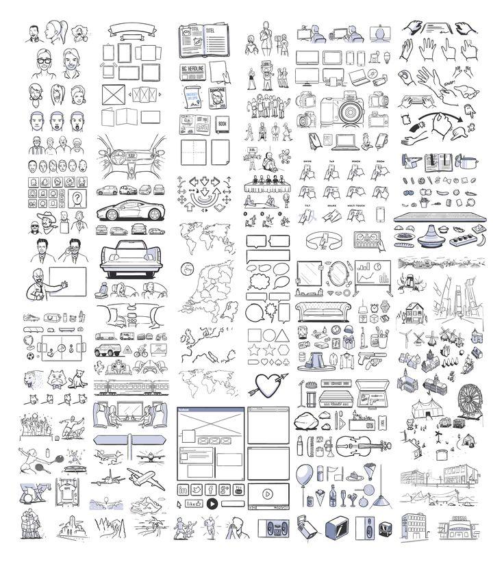 430 illustrations  http://dribbble.com/shots/1083617-430-FREE-storyboard-illustrations