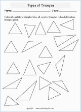 Name regular and irregular polygons. Count the sides and angles.