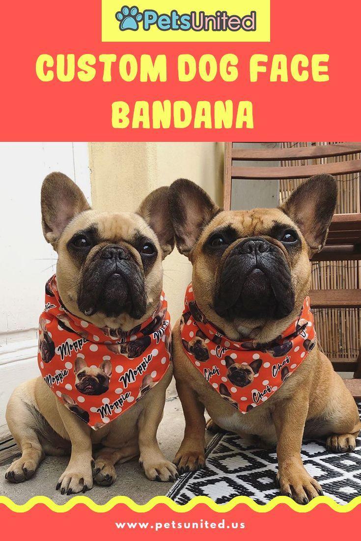 Your Face Custom Pet Bandana