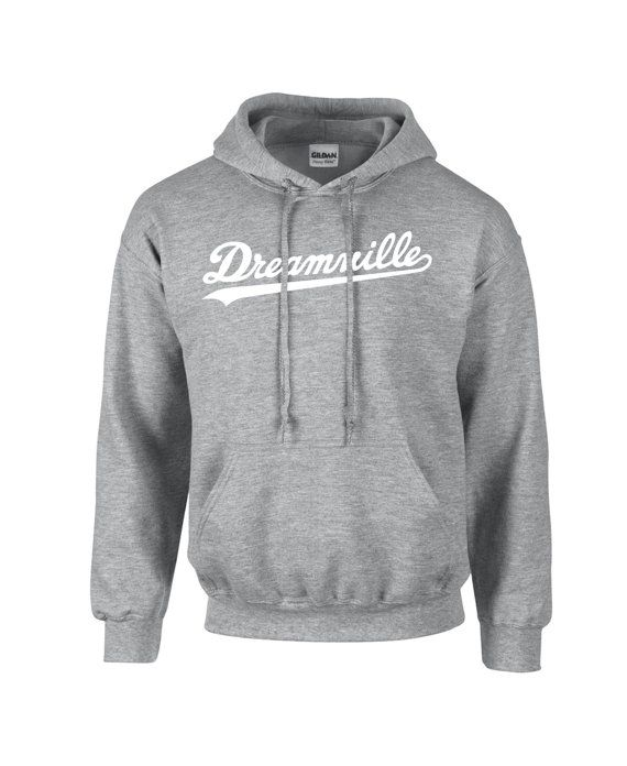 Dreamville Hoodie white Logo J Cole World Born by DiscountThr3ads