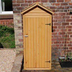 Wooden Apex Small Shed 26x62 on Sale | Fast Delivery | Greenfingers.com