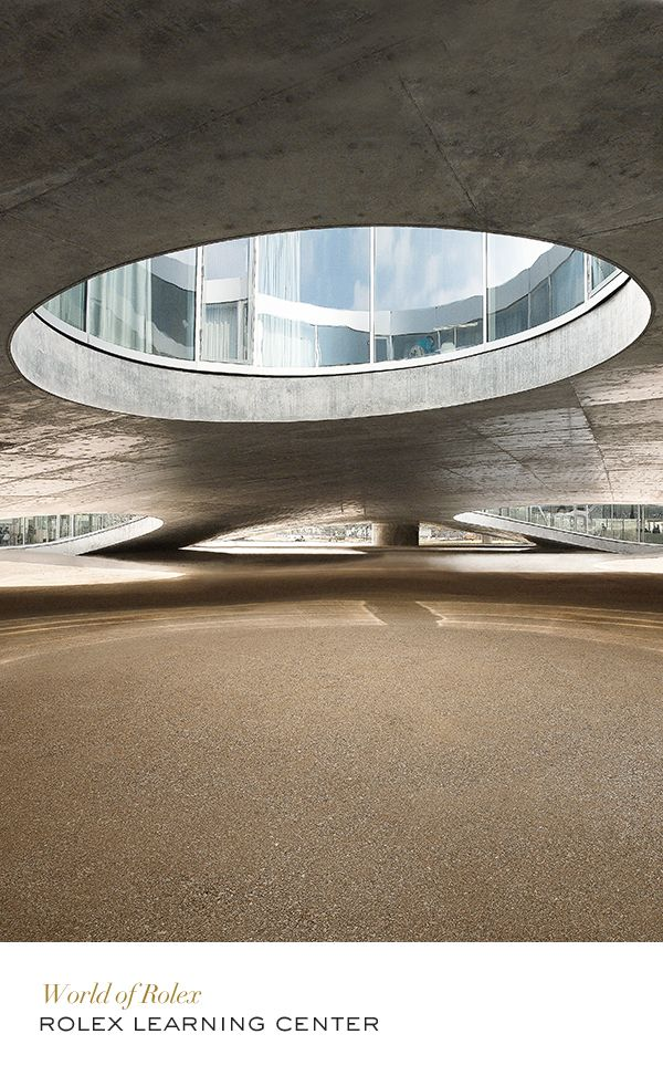 Rolex Learning Center #Architecture #RolexOfficial