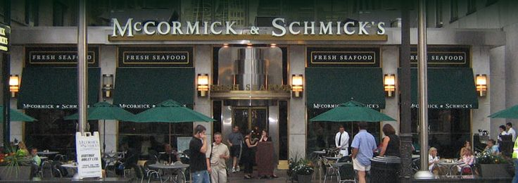 Seafood Restaraunt Chicago - Steakhouse Chicago - Wacker Dr. | McCormick & Schmick's