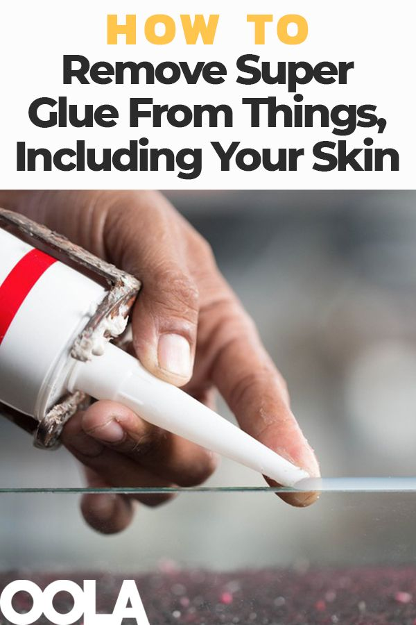 How To Remove Super Glue From Things Including Your Skin Cleaning