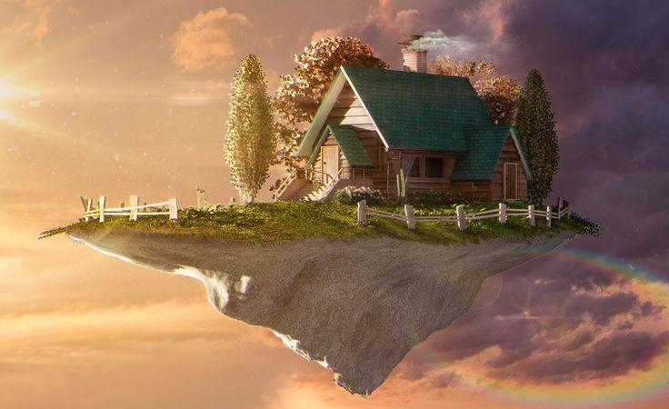 Cinema 4D - Beautiful House Design