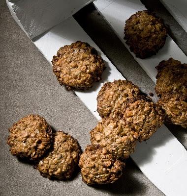 oatmeal cookies - Ciasteczka owsiane bez mąki