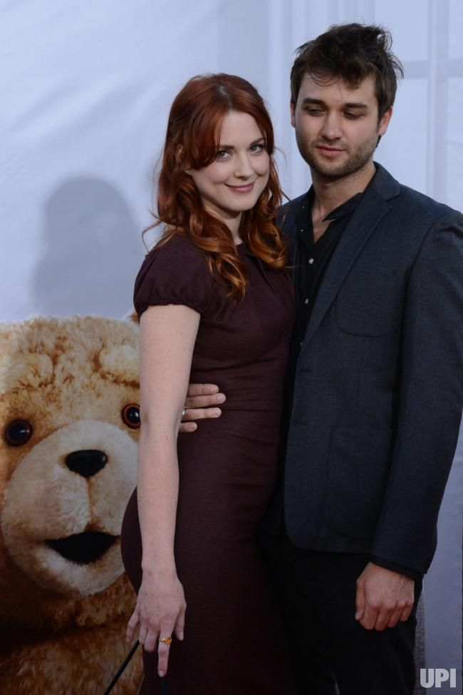 """Alexandra Breckenridge and Casey Hooper attend the premiere of """"Ted"""" in Los Angeles - UPI.com"""