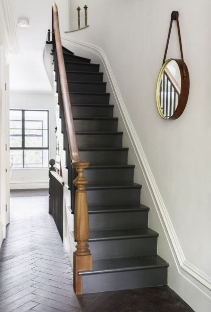 dark basement stairs. Painted Stairs 96 best Basement stairs images on Pinterest  stairway