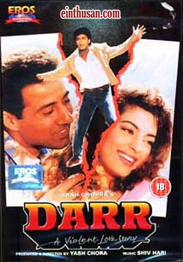 Darr Hindi Movie Online - Sunny Deol, Juhi Chawla, Shahrukh Khan and Annu Kapoor. Directed by Yash Chopra. Music by Shiv-Hari. 1993 Darr Hindi Movie Online.