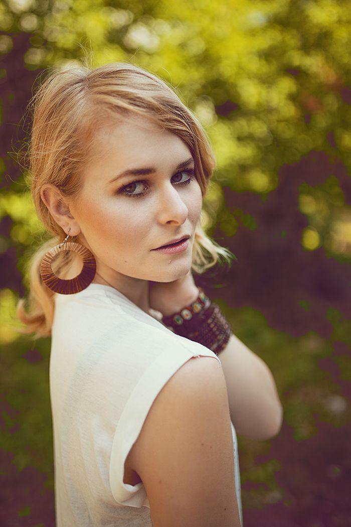 Make Up Inspiration für den Sommer, blonde Haare, Berliner Bloggerin