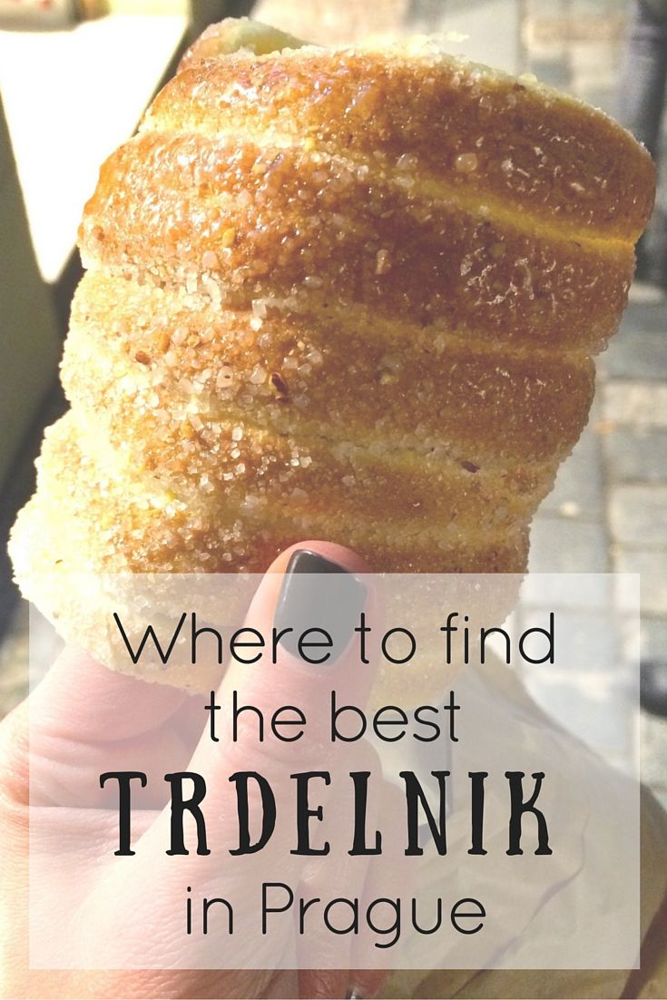 Where To Find The Best Trdelnik in Prague, Czech Republic // A must-eat when in Prague! Click through to read the whole post! www.girlxdeparture.com