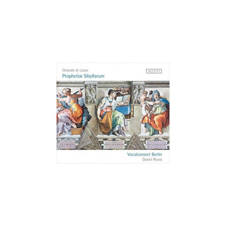 Vocalconsort Berlin - Orlando di Lasso: Prophetiae Sibyllarum (CD)