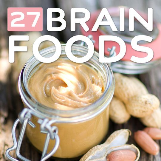 27 Brain Foods- for an active, productive, and healthy brain.