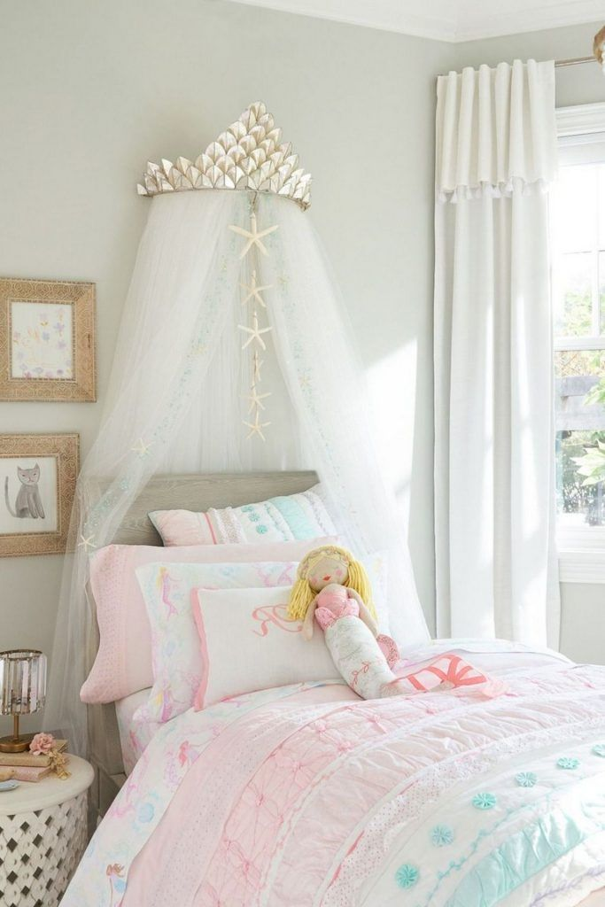 36 Sweet Mermaid Themes Bedroom Ideas For Your Children Page 4