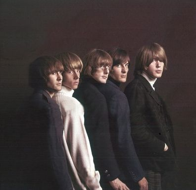 The Byrds, 1965. The Byrds were an American rock band, formed in Los Angeles, California in 1964. The band underwent multiple line-up changes throughout its existence, with frontman Roger McGuinn, a.k.a. Jim McGuinn, remaining the sole consistent member, until the group disbanded in 1973.