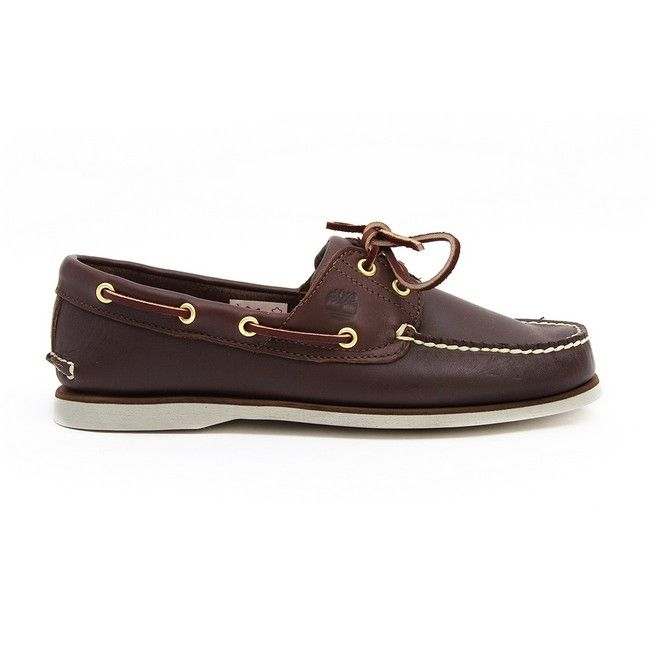 Timberland - EK Icon Classic 2-Eye - Dark Brown Smooth at Cloggs
