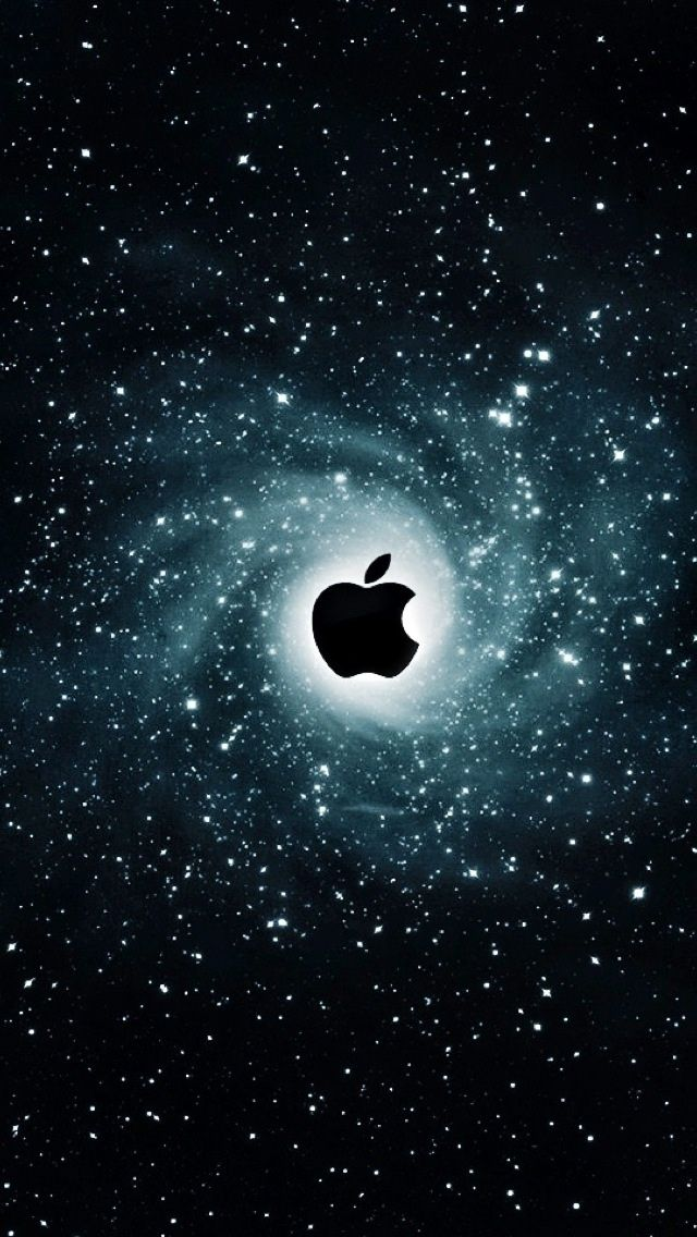 iPhone 5 Wallpaper Apple galaxy Apple wallpaper, Apple