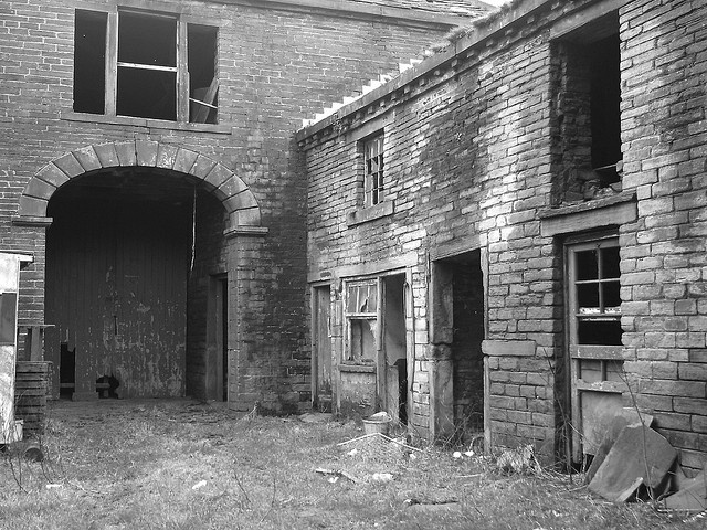 Derelict Buildings by The Chairman 8, via Flickr