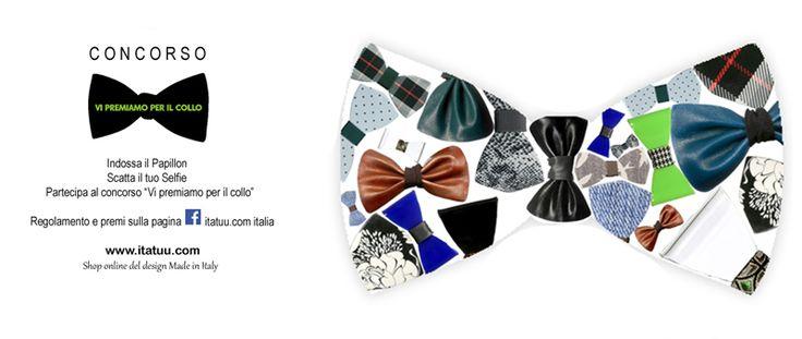 Originale idea regalo. Papillon in plexiglass, resina e legno per chi ama distinguersi e farsi notare. Tu che papillon sei?