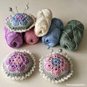 """Милые сердцу штучки: Вязание крючком: """"Африканские цветы"""""""