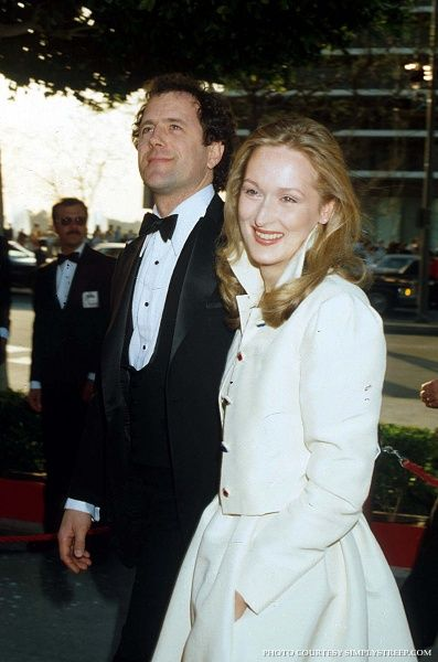 Streep with husband Don Gummer on the red carpet for the ...