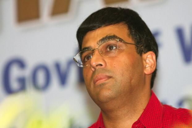 Viswanathan Anand will face China's Hou Yifan next in the Isle of Man open. Photo: HT