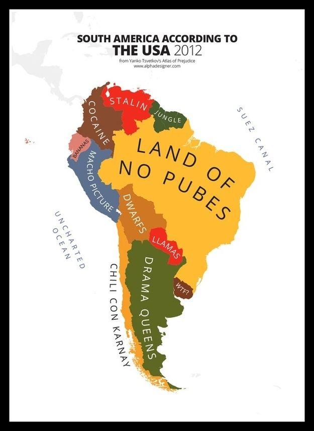 America Meme: SOUTH AMERICA BRAZIL BOLIVIA uRt UAY ARGENTINA ...