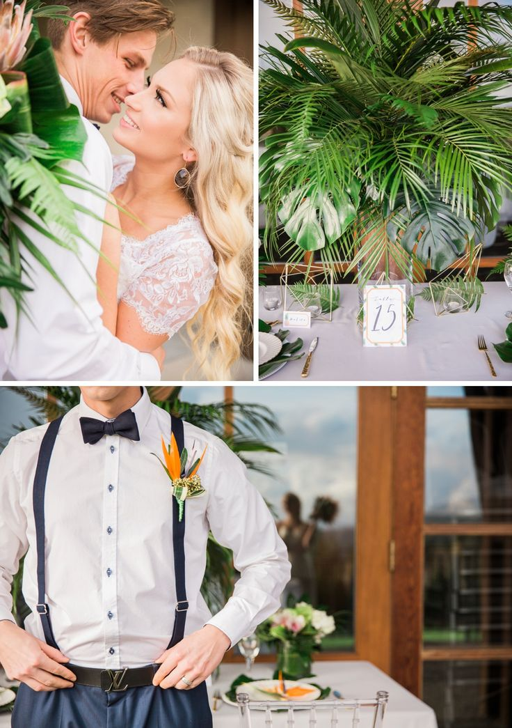 Luxe Tropical wedding inspiration by Memory Laine Events & Joanna Moss Photography. Tropical destination wedding in Vancouver, BC.