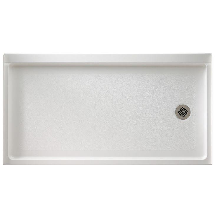 Master Bath Fiberglass Shower Pan