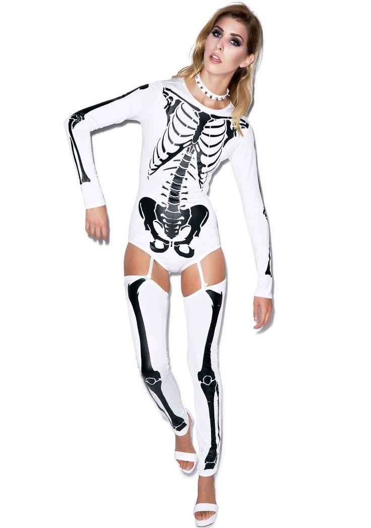 17 bedste ideer om sexet skelet kostume på Pinterest-3662