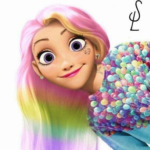 когда-нибудь рапунцель с разноцветными волосами картинки расскажем, как