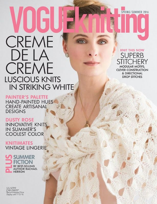 1000+ ideas about Vogue Knitting on Pinterest Knits, Knitting ...