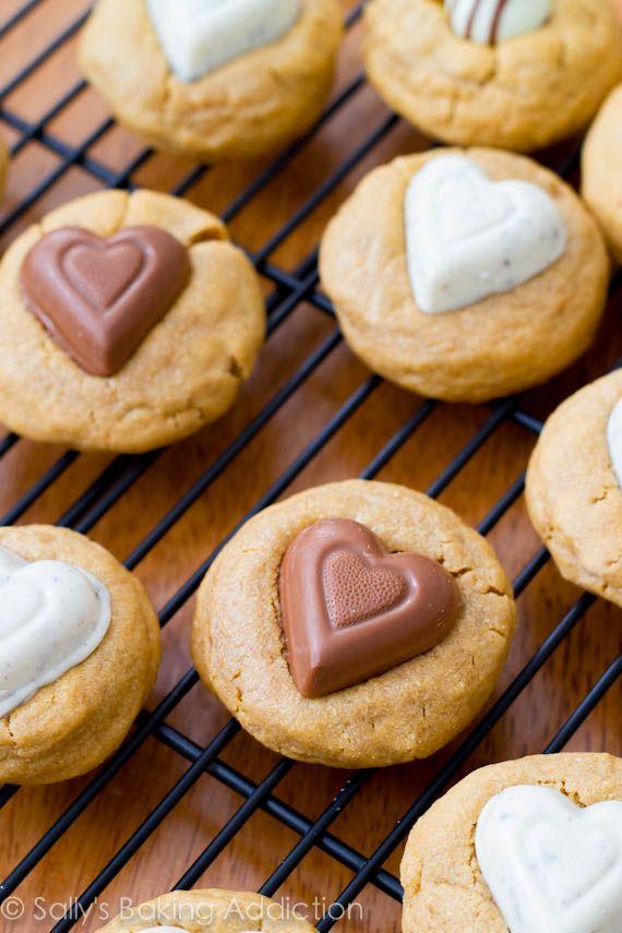 Peanut Butter Sweethearts by sallysbakingaddiction.com