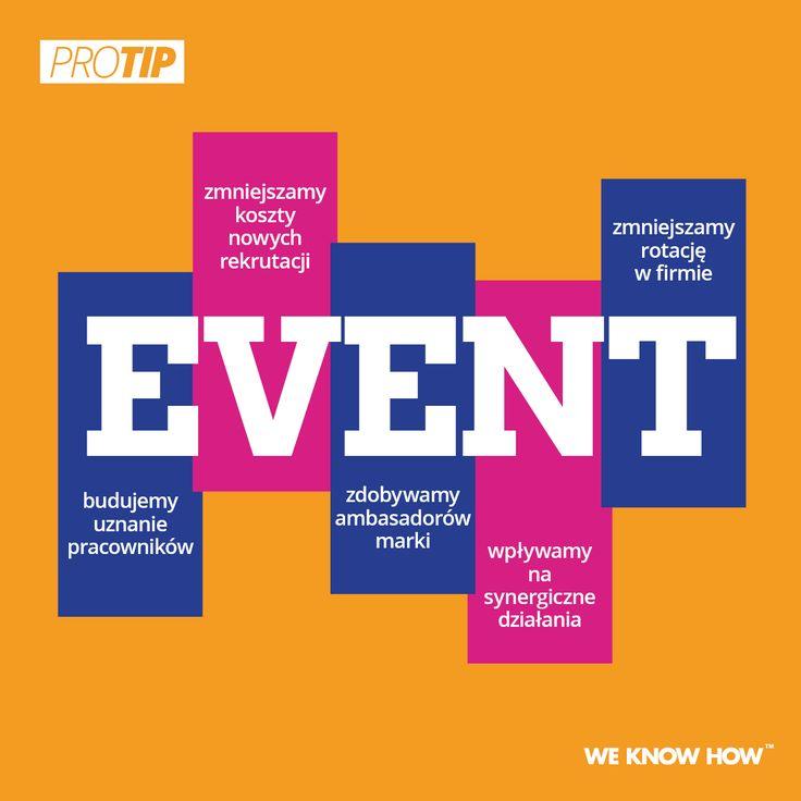 Event warto wykorzystać w działaniach marketingowych, HR i sprzedaży!