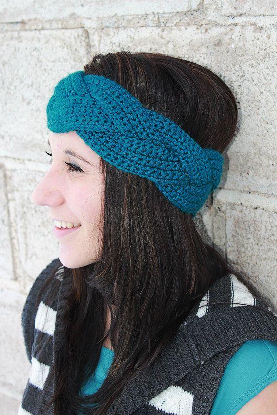 Braided Crochet Ear Warmer