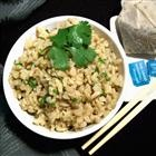 "Delicate Jasmine Rice    ""A delicately flavored Jasmine rice made with brown rice and jasmine tea."""