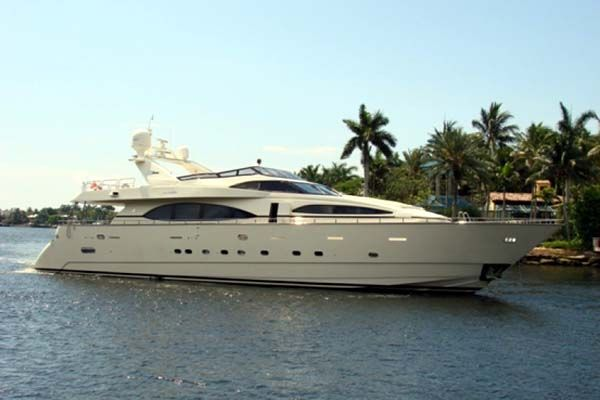 "Large Azimut Motor Yacht ""Carobelle"" for sale from Ocean Yachting International."