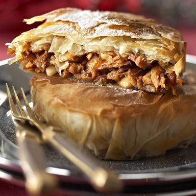 Découvrez la recette Pastillas de dinde au foie gras sur cuisineactuelle.fr.