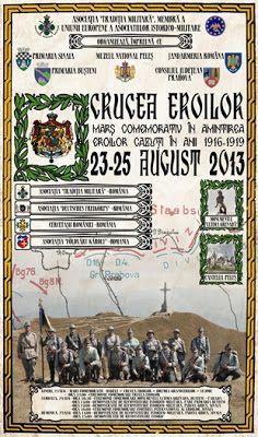 Galerie FOTO: Marșul Comemorativ Crucea Eroilor (23 – 25 august 2013)