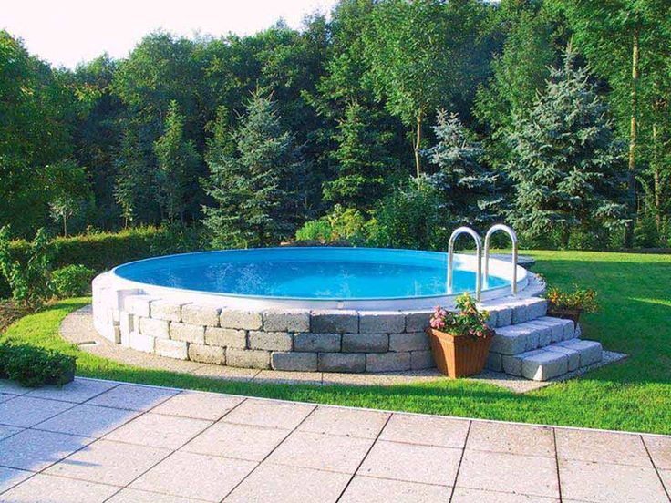 Bildergebnis für pool umrandung Garten, Hinterhof