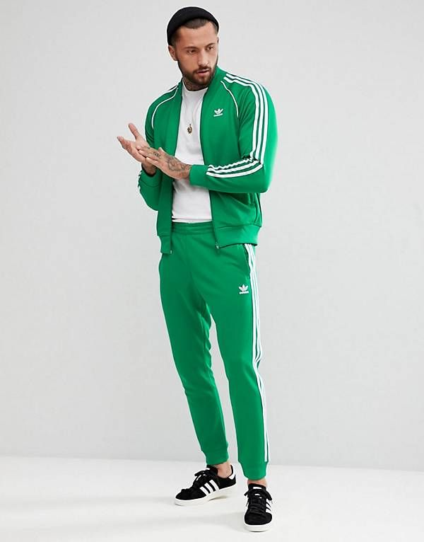 004c82b079bc6 adidas Originals adicolor Tracksuit in Green
