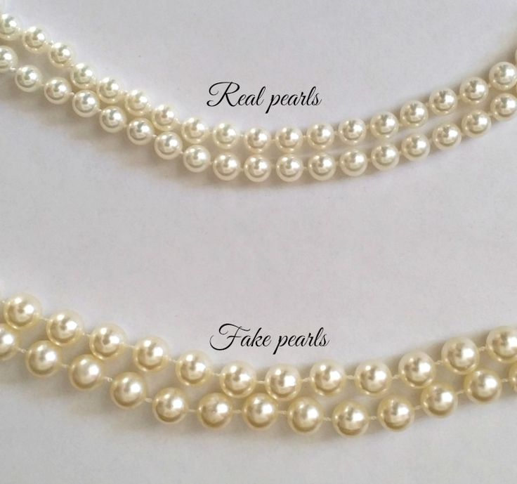 Buyer Beware – How to Tell Real Pearls from Fakes When buying pearls the question always arises as to whether or not the pearls you are purchasing are real or not. This article will show you how to tell real pearls from fakes. First of all, in real pearls you will often notice tiny surface …
