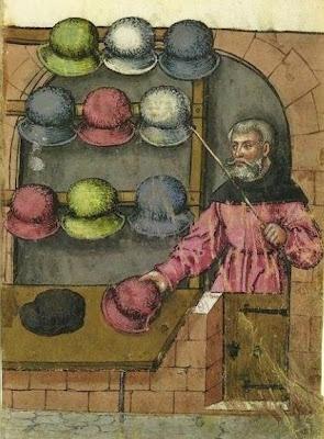 Hatmaker. Landauer Twelve Brother's House manuscript. Originally found on the…