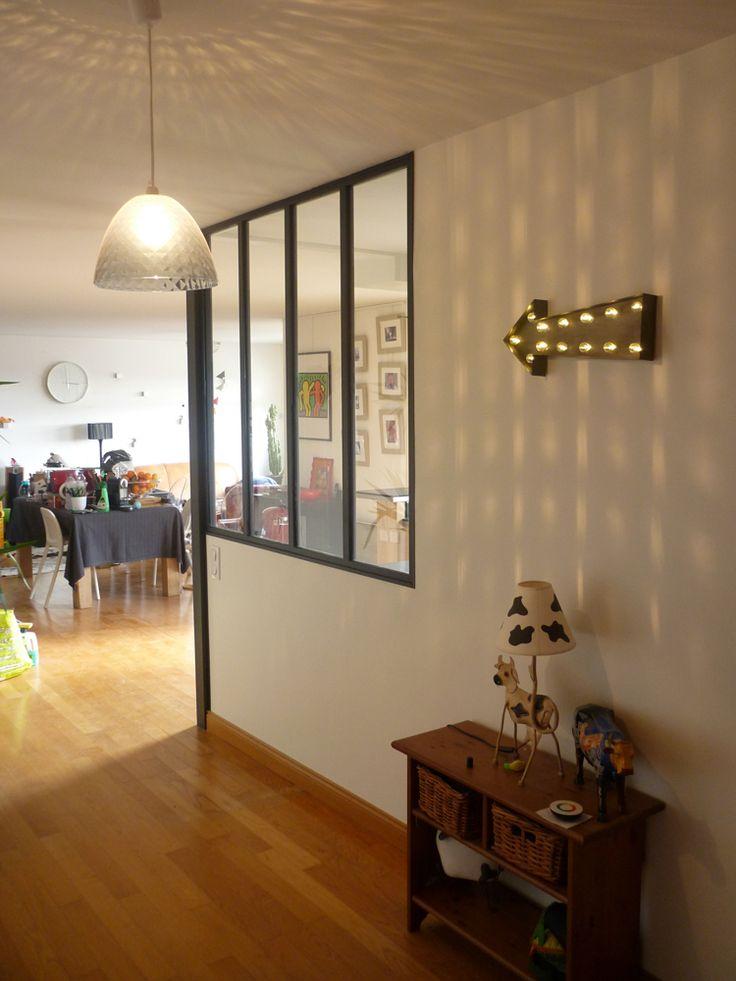 Modification des cloisons pour cr ation d 39 une cuisine for Verriere entre cuisine et salon