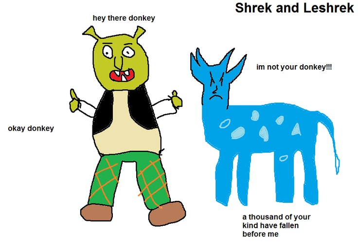Shrek and Leshrac
