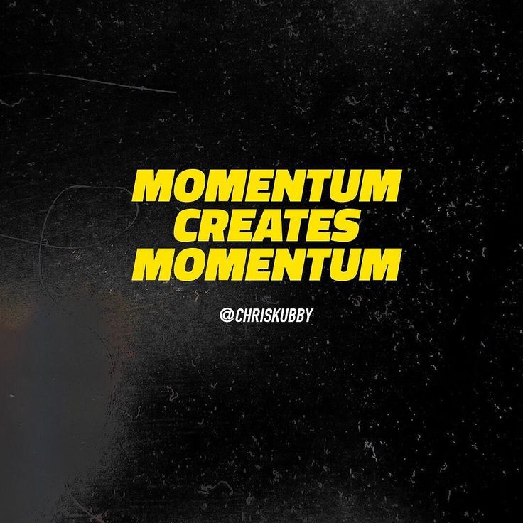 Don't underestimate the power of momentum. There's this snowball effect that can happen when you get the ball rolling. If you stop or slow down you often lose that momentum and it takes more to get it going again.